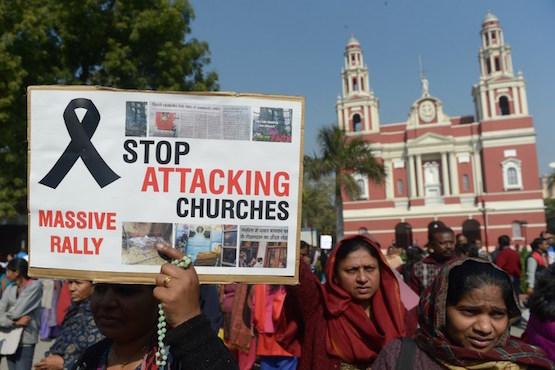 INDIA-RELIGION-CHURCH-CRIME